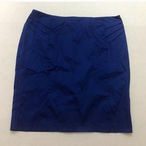 NWT New York & Co Royal Blue Pencil Skirt, Size 16